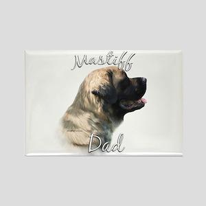 Mastiff(fluff)Dad2 Rectangle Magnet