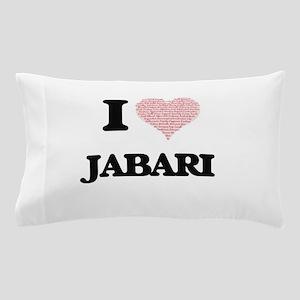 I Love Jabari (Heart Made from Love wo Pillow Case
