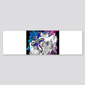 Great Graffiti Graphics Bumper Sticker