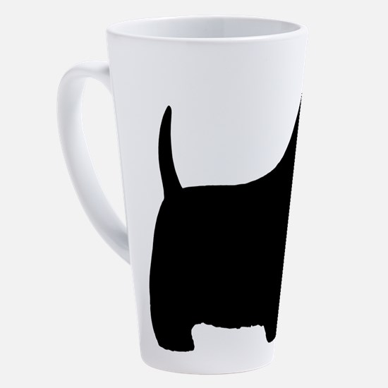 Unique Scottish terrier 17 oz Latte Mug