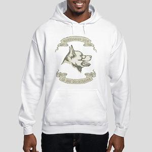 Greenland Dog Hooded Sweatshirt