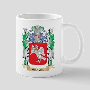 Gravel Coat of Arms (Family Crest) Mugs