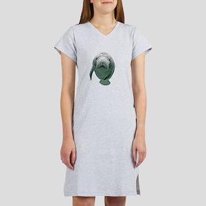 babymanatee Women's Cap Sleeve T-Shirt