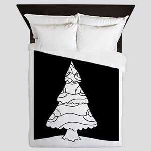 Trees at Night Series Queen Duvet