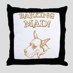 Great Dane Throw Pillow