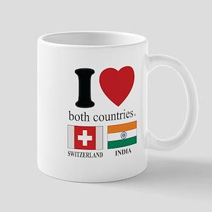 SWITZERLAND-INDIA Mug