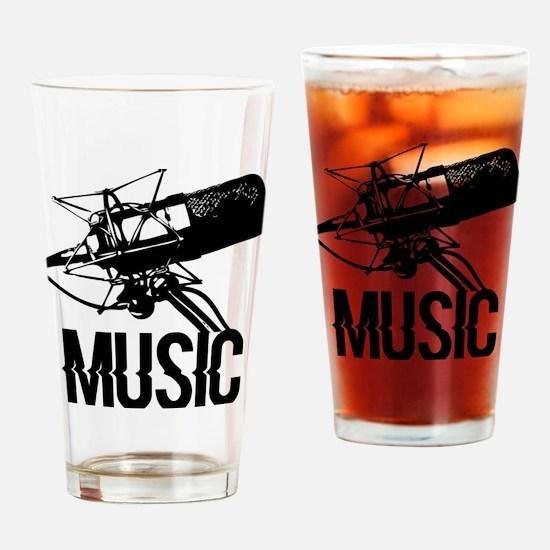 Recording studio Drinking Glass