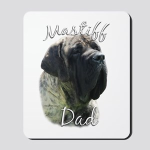 Mastiff(brindle)Dad2 Mousepad