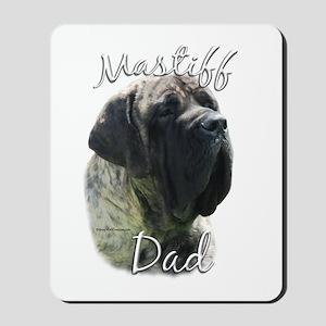 Mastiff(brindle)Dad2 Mousepad