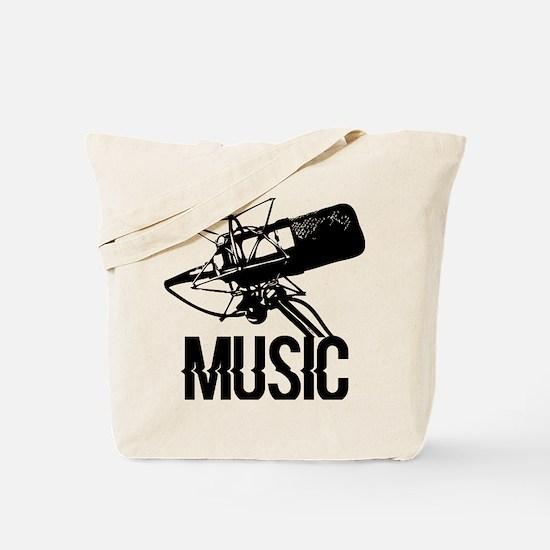 Cute Recording studio Tote Bag