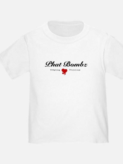 Phat Bombz Logo T-Shirt