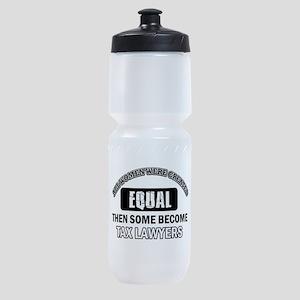 Tax Lawyers Design Sports Bottle