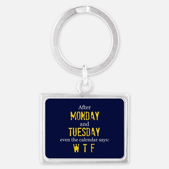 Monday Tuesday Keychains