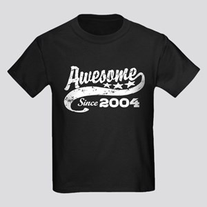 Awesome Since 2004 Kids Dark T-Shirt
