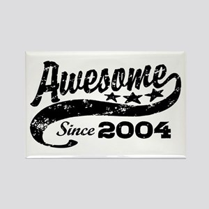 Awesome Since 2004 Rectangle Magnet