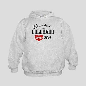 Somebody in Colorado Loves Me Kids Hoodie