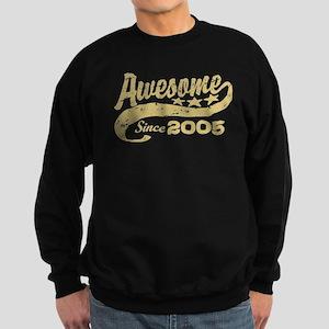Awesome Since 2005 Sweatshirt (dark)