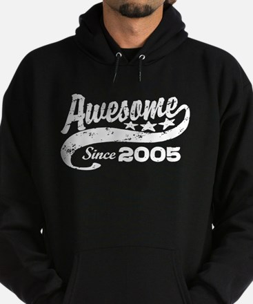 Awesome Since 2005 Hoodie (dark)