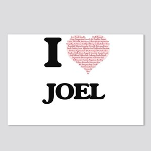 I Love Joel (Heart Made f Postcards (Package of 8)