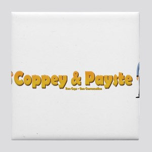 Coppey and Payste Tile Coaster
