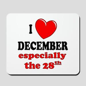 December 28th Mousepad