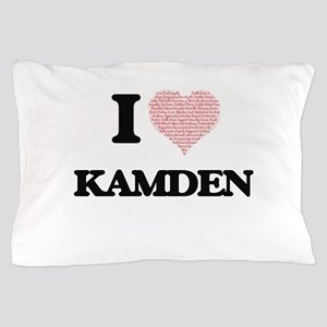 I Love Kamden (Heart Made from Love wo Pillow Case