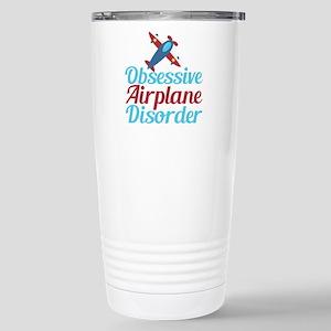 Cool Airplane Stainless Steel Travel Mug