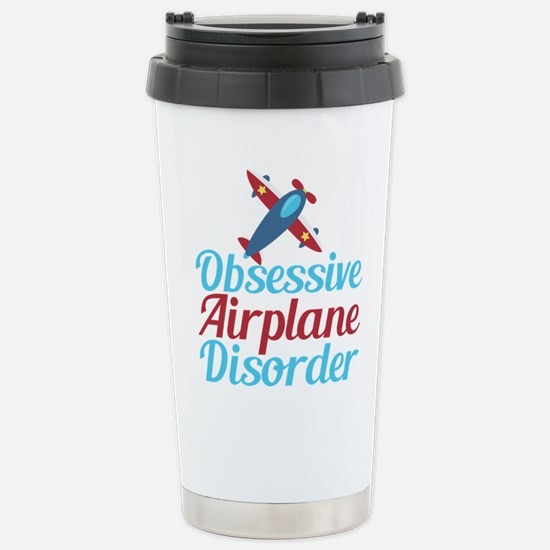 Cool Airplane Stainless Steel Travel Mug