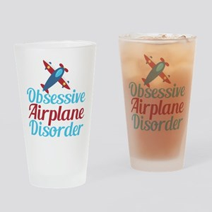 Cool Airplane Drinking Glass