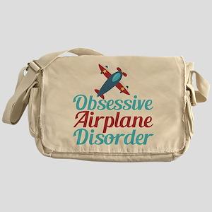 Cool Airplane Messenger Bag