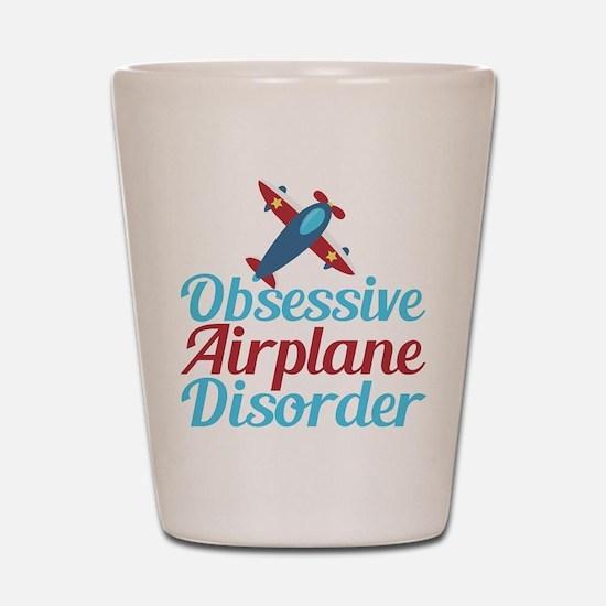 Cool Airplane Shot Glass