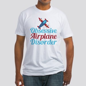 Cool Airplane Fitted T-Shirt