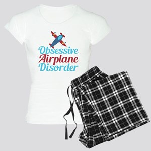 Cool Airplane Women's Light Pajamas