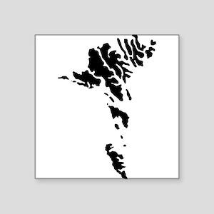 Faroe Islands Silhouette Sticker