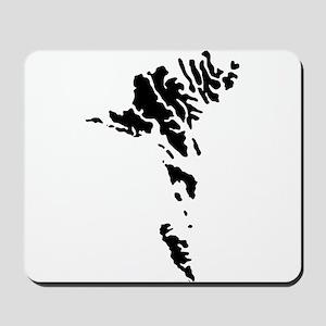 Faroe Islands Silhouette Mousepad