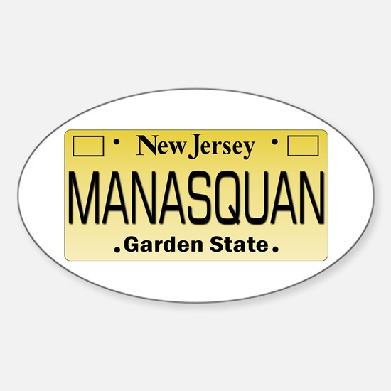 Manasquan, NJ Tag Gifts Decal