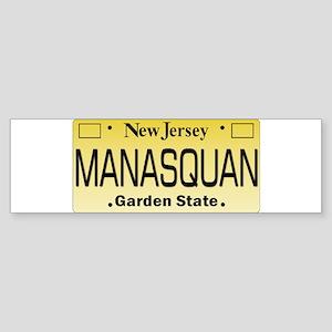 Manasquan, NJ Tag Gifts Bumper Sticker