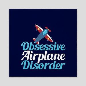 Cool Airplane Queen Duvet