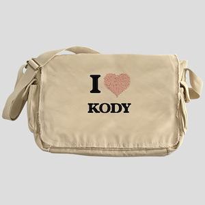 I Love Kody (Heart Made from Love wo Messenger Bag