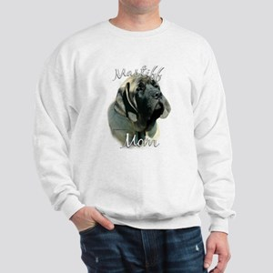Mastiff(pup)Mom2 Sweatshirt