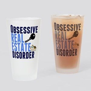 Funny Real Estate Drinking Glass