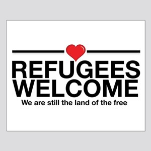 Refugees Welcome Posters Small Poster