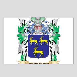 Greenman Coat of Arms (Fa Postcards (Package of 8)