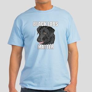 Black Labs Matter Two Light T-Shirt