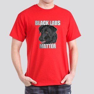 Black Labs Matter Two Dark T-Shirt