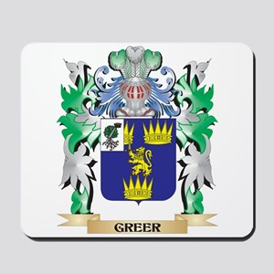 Greer Coat of Arms (Family Crest) Mousepad