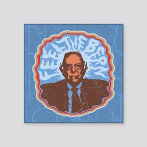 "Feel the Bern Tour Square Sticker 3"" x 3"""