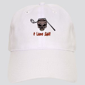 Skull and Bent Golf Club I LOVE GOLF Cap f3b8778371f3