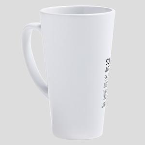 1I 17 oz Latte Mug