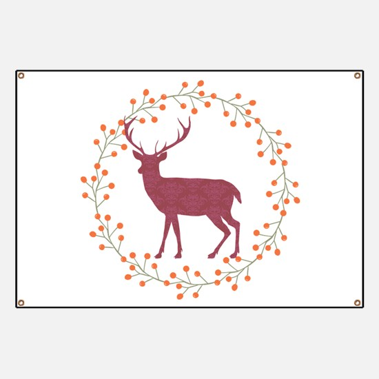 Red Stag Banner